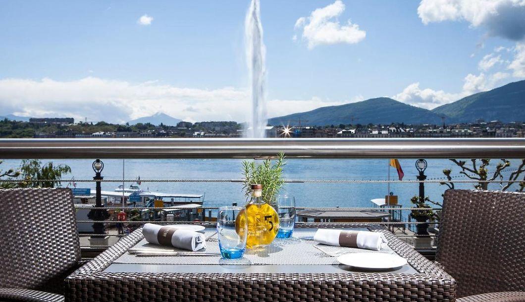 Grand Kempinski Genf Luxus Unterkunft Innenstadt